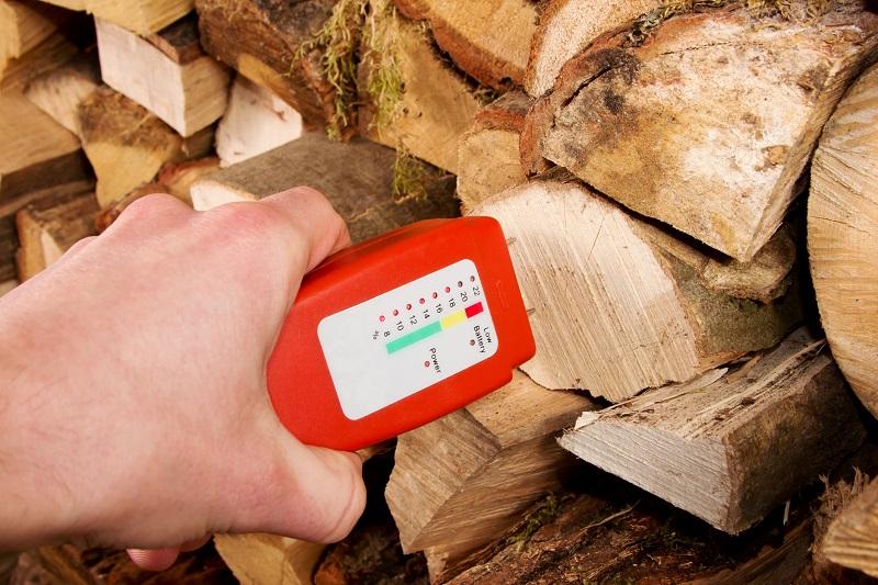 Pomiar wilgotności drewna