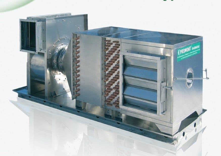 Agregat pieczarkarski - centrala klimatyzacyjna