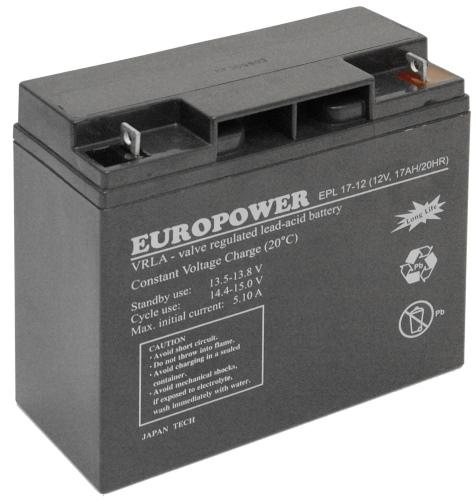 Akumulatora EPL 17-12 Europower