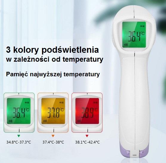 668 - Bezdotykowy termometr medyczny