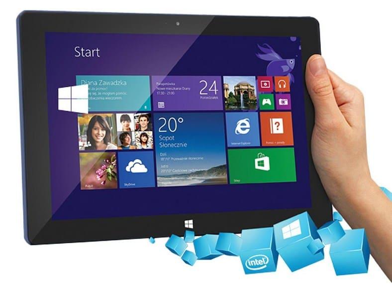 Tablet z aplikacją SCADA LBX
