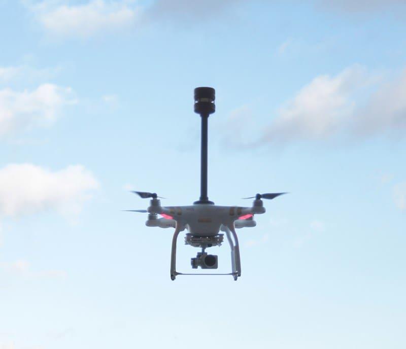 Wiatromierz FT TECHNOLOGIES FT205 na dronie