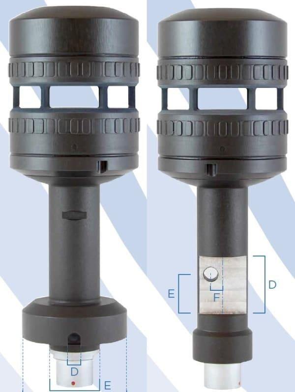Wiatromierz FT722 dwie opcje montażowe FF i PM