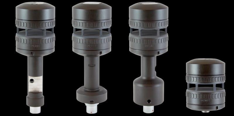 Wiatromierz FT722 cztery opcje montażowe