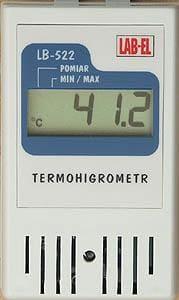 Termohigrometr ze świadectwem wzorcowania LB-522