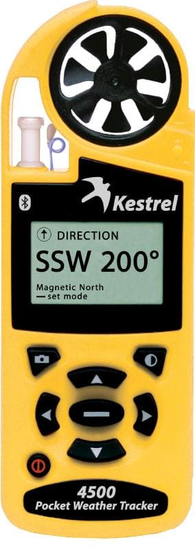 Anemometr higrometr termometr barometr kompas - Kestrel 4500