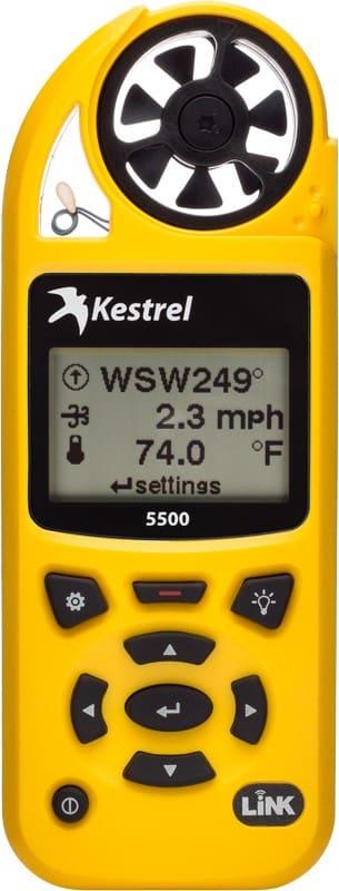 Anemometr wiatraczkowy Kestrel 5500