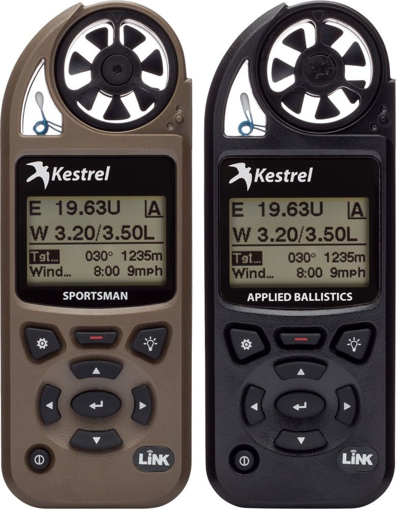 Anemometry Kestrel 5700 i 5700 Elite z balistyką