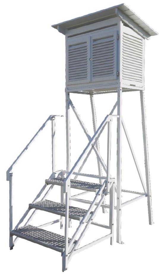 Klatka meteorologiczna Stevensona zgodna z IMGW