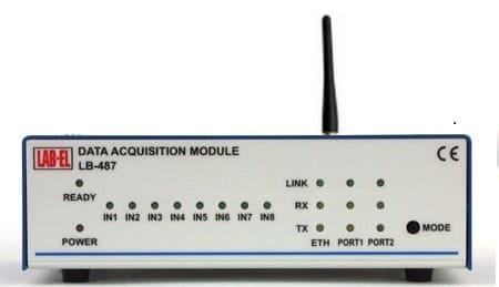 Bezprzewodowy rejestrator danych pomiarowych LB-487