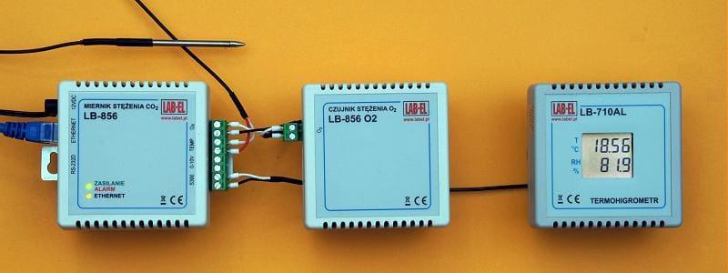 Czujniki do ciągłego monitorowania mikroklimatu pomieszczeń