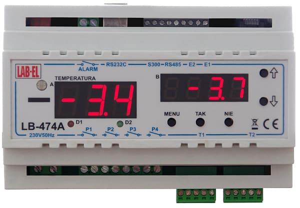 Regulator PID, temperatura, psychrometr LB-474A3