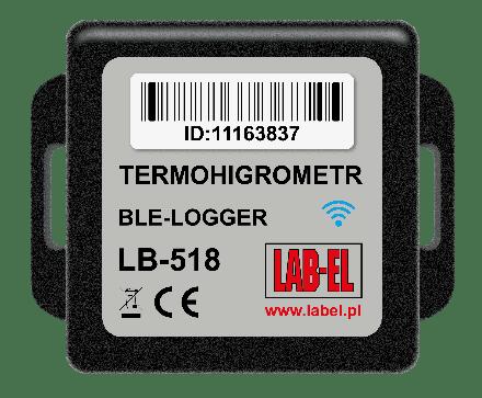 Bezprzewodowy rejestrator temperatury i wilgotności LB-518 BLE-LOGGER