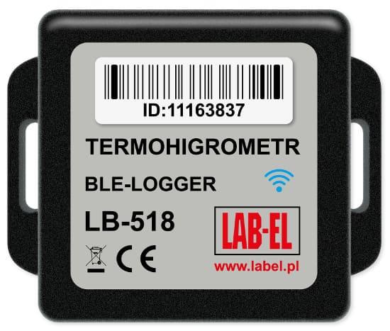 Miniaturowy rejestrator temperatury i wilgotnoosci LB-518 BLE