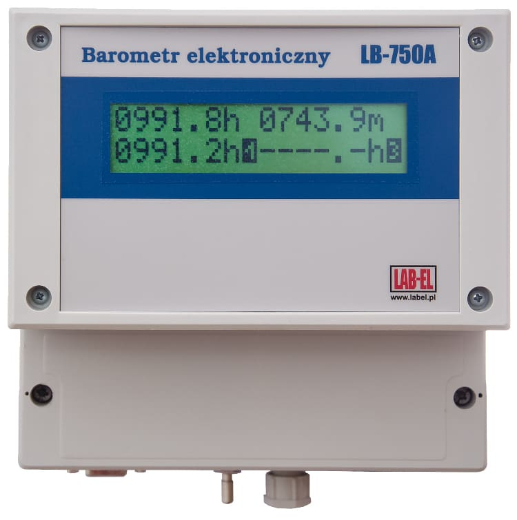 Barometr Laboratoryjny LB-750A