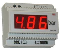 Panel wyświetlający ciśnienie
