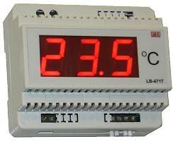 Termometr pt100 lub pt1000 typ LB-471T
