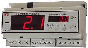 termometr, regulator temperatury wilgotności LB-474C