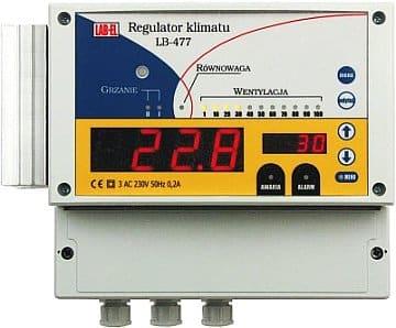 regulator temperatury i wentylacji modbus ethernet LB-477