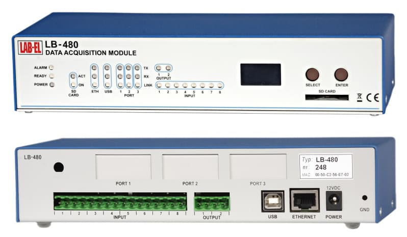 LB-480 - Termometr internetowy