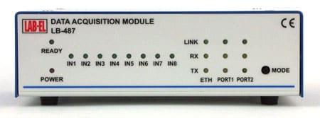 Rejestrator danych pomiarowych LB-487