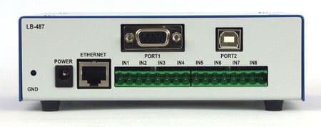Rejestrator danych pomiarowych LB-487 tył