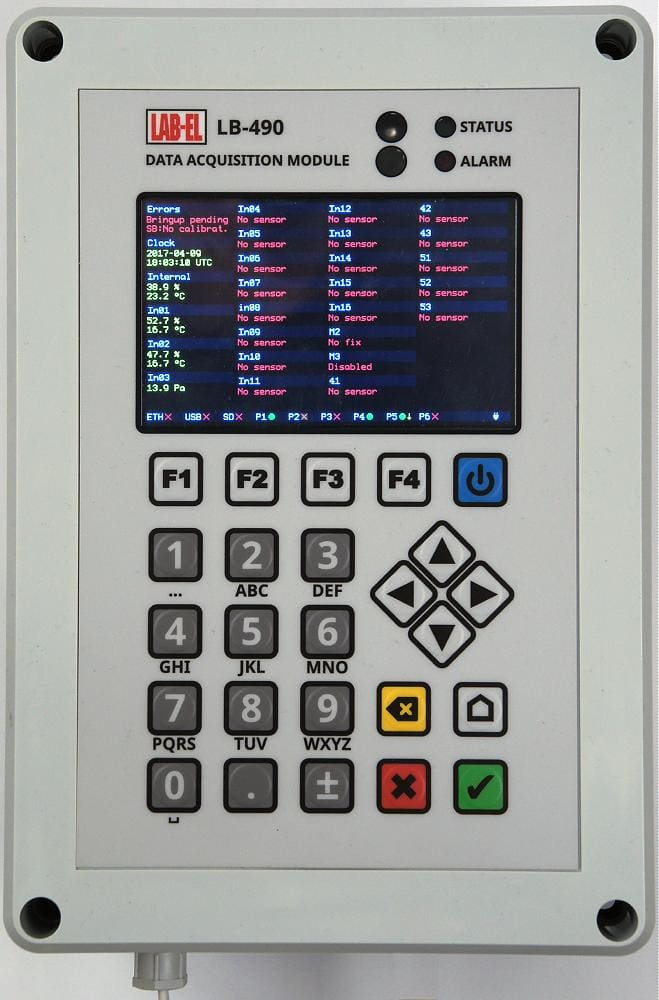 Koncentrator - rejestrator LB-490