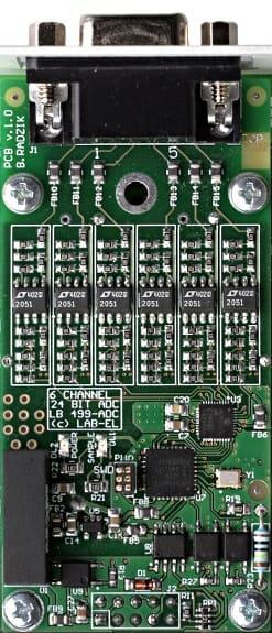 Moduł przetwornika A/C LB-499-ADC