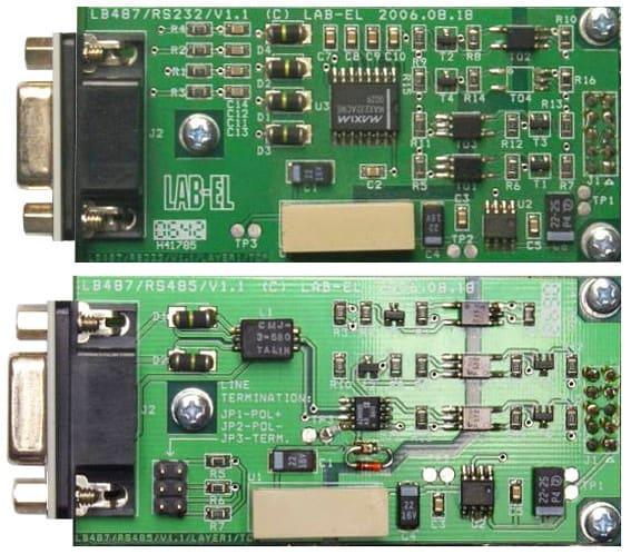 Moduł dodatkowego wejścia transmisji szeregowej LB-499-RS232