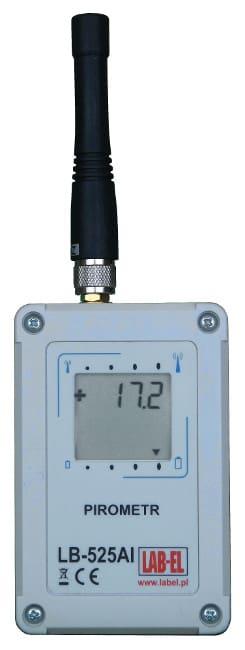 Pirometr rejestrator tempeartury LB-525AI SMA
