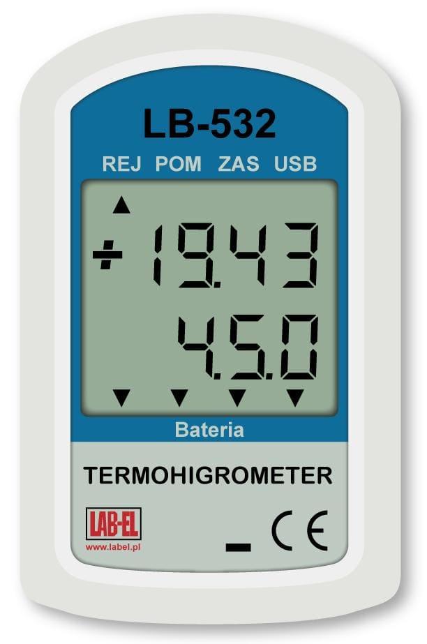 Termohigrometr LB-532