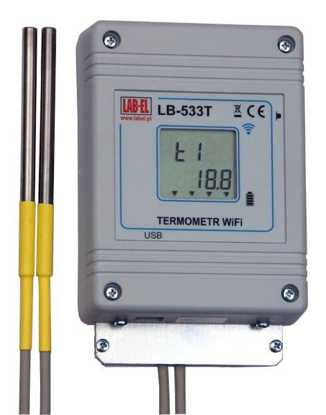 Bezprzewodowy czterokanałowy termometr WiFi LB-533T