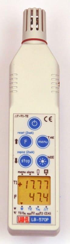 Przenośny termohigrometr LB-570P