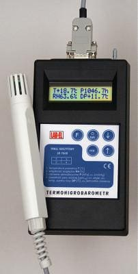 Przenośny rejestrator temperatury i wilgotności powietrza LB-701 + LB706