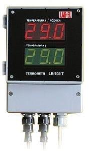 Termometr elektroniczny dwukanałowy LB-708T