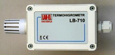 Termohigrometr ze świadectwem wzorcowania LB-710B