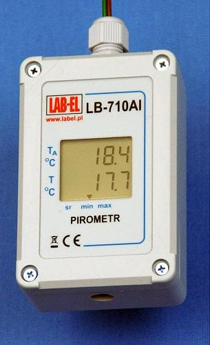Termometr bezdotykowy - pirometr LB-710AI
