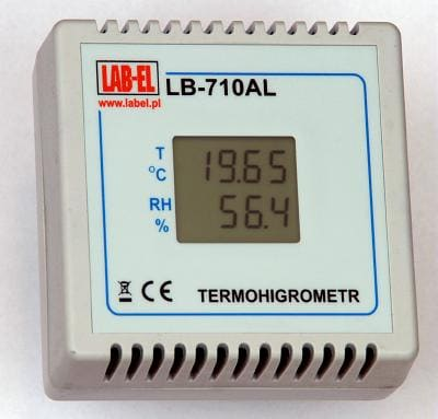 Termohigrometr LB-710AL, czujnik wilgotności i temperatury
