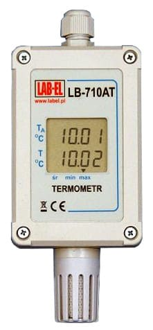 Dokładny termometr 0,01°C LB-710ATF
