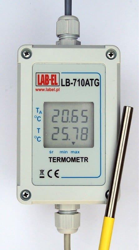 Dokładny termometr elektroniczny 0,01°C LB-710ATG