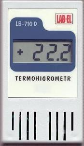 Termometr higrometr LB-710D