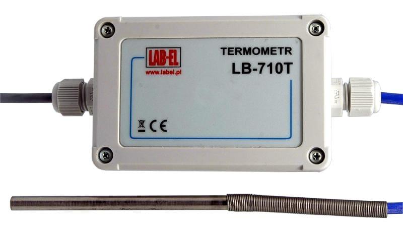 Termometr elektroniczny LB-710T wzorcowany (ze świadectwem wzorcowania)