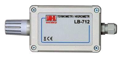 Higrometr termometr 4-20mA 0-1V 0-10V: LB-712TW LB-712