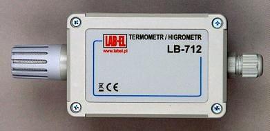 Termohigrometr LB-712TW