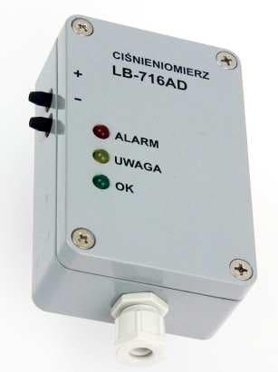 Ciśnieniomierz różnicowy LB-716AD