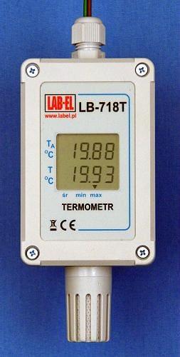 Termometr cyfrowy MODBUS RTU LB-718
