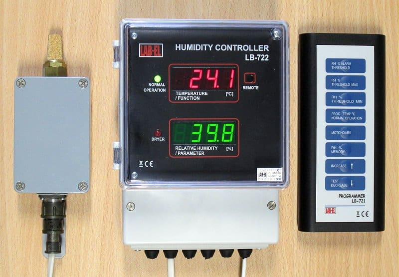 LB-720 CONTROL SYSTEM FOR DYNAMIC AIR DRIERS