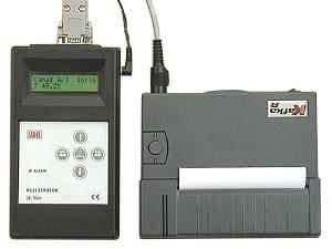 Rejestrator temperatury i wilgotności z drukarką LB-755A