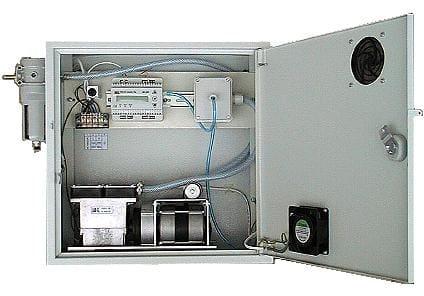 Miernik CO2 LB-850 z wyposażeniem w obudowie
