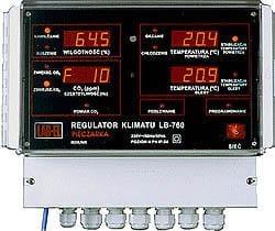 Produkcja podłoża do pieczarkarni - regulator LB-760